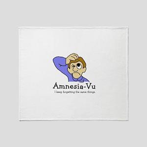 Amnesia Vu Throw Blanket