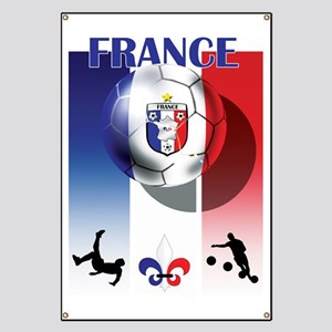 France French Football Banner