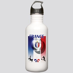 France French Football Stainless Water Bottle 1.0L