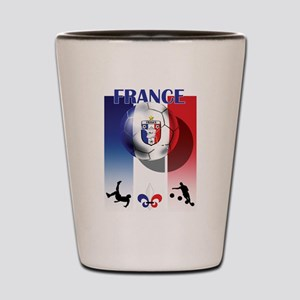 France French Football Shot Glass
