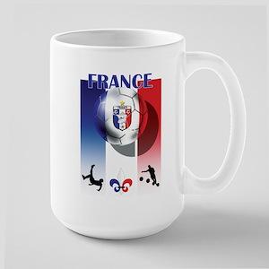 France French Football Large Mug
