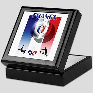 France French Football Keepsake Box