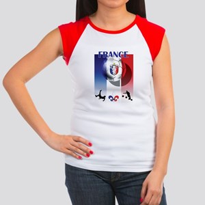 France French Football Women's Cap Sleeve T-Shirt