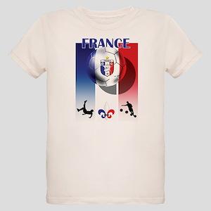 France French Football Organic Kids T-Shirt