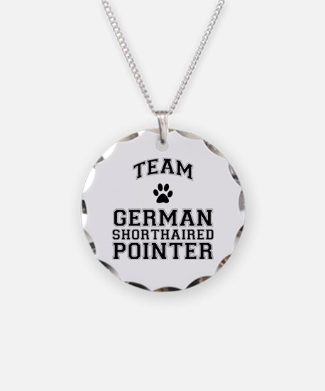 Team German Shorthaired Pointer Necklace