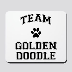 Team Goldendoodle Mousepad