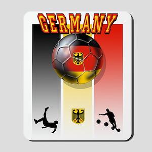Germany Football Mousepad