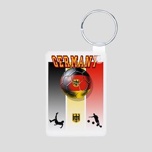 Germany Football Aluminum Photo Keychain