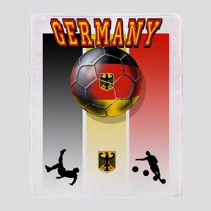 Germany Football Throw Blanket