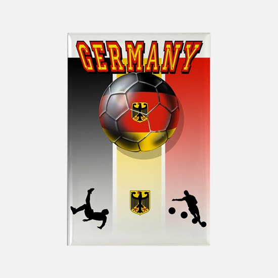 Germany Football Rectangle Magnet