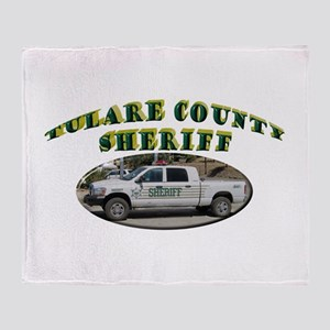 Tulare County Sheriff Throw Blanket