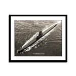 USS DOGFISH Framed Panel Print