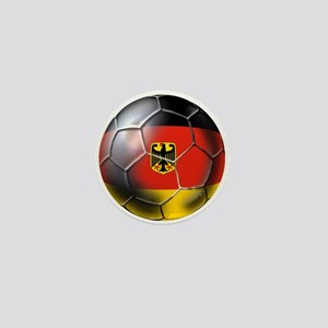 German Soccer Ball Mini Button