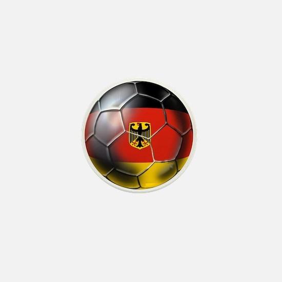 German Soccer Ball Mini Button