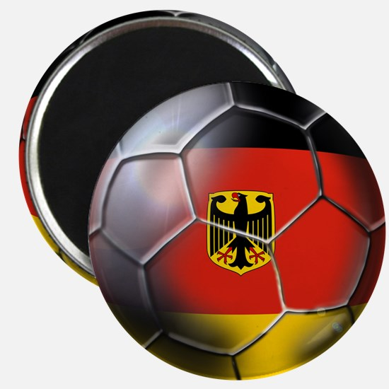 German Soccer Ball Magnet