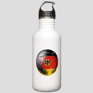 German Soccer Ball Stainless Water Bottle 1.0L
