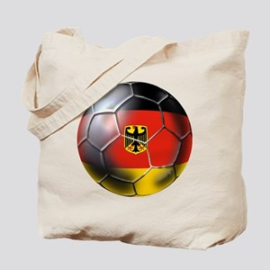 German Soccer Ball Tote Bag