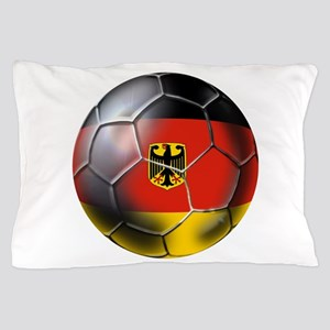 German Soccer Ball Pillow Case