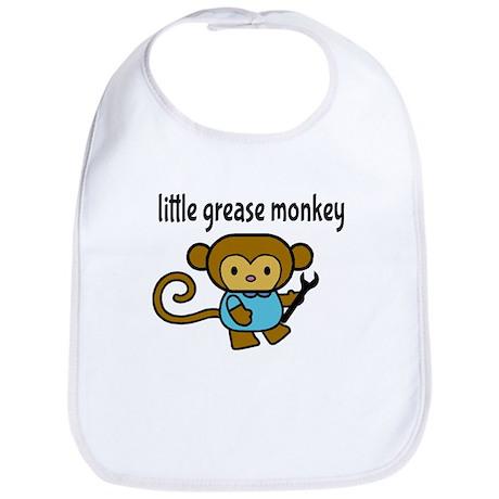 Little Grease Monkey Bib