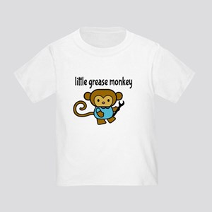 Little Grease Monkey Toddler T-Shirt