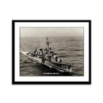 USS DORTCH Framed Panel Print