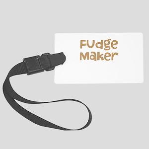 Fudge Maker Large Luggage Tag