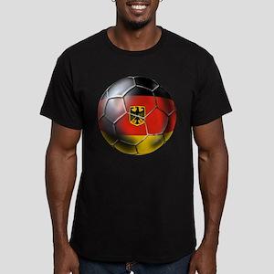 German Soccer Men's Fitted T-Shirt (dark)