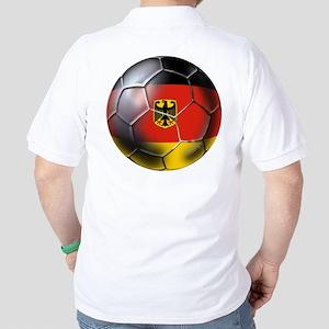 German Soccer Golf Shirt