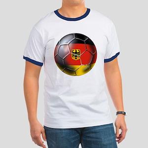 German Soccer Ringer T