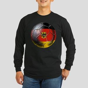 German Soccer Long Sleeve Dark T-Shirt