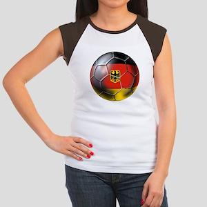 German Soccer Women's Cap Sleeve T-Shirt