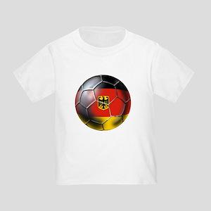 German Soccer Toddler T-Shirt