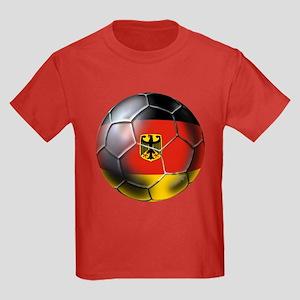 German Soccer Kids Dark T-Shirt