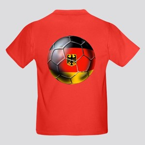 German Soccer Kids Dark T-Shirt