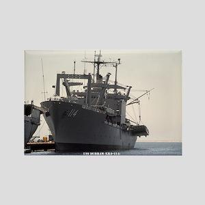 USS DURHAM Rectangle Magnet