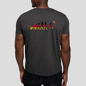 German Football Evolution Dark T-Shirt