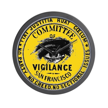 SF Vigilance Wall Clock