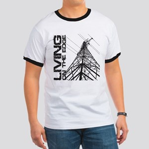 transmission tower edge 1 T-Shirt