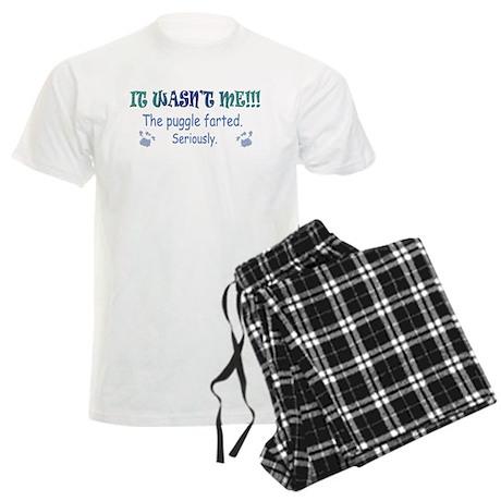 puggle farted Men's Light Pajamas