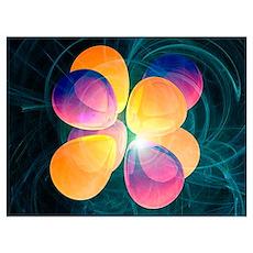 4f2 electron orbital Poster