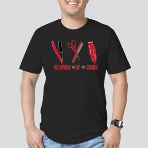 Barber Red Tools of the TradeFitted T-Shirt (dark)