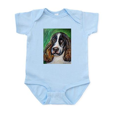 Springer Spaniel Smile Infant Bodysuit