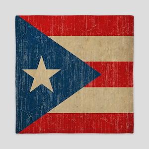 Vintage Puerto Rico Queen Duvet