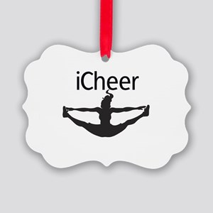 icheer_emb Picture Ornament