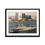 USS FORT FISHER Framed Panel Print