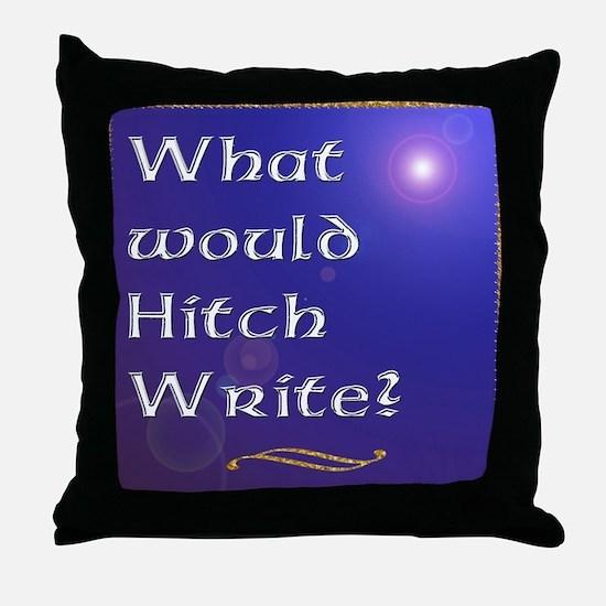 HitchWrite Throw Pillow