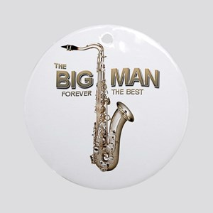 RIP Big Man Clarence Clemons Ornament (Round)
