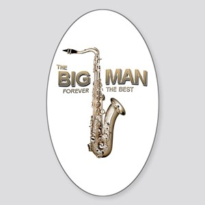 RIP Big Man Clarence Clemons Sticker (Oval)