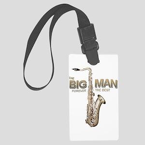 RIP Big Man Clarence Clemons Large Luggage Tag