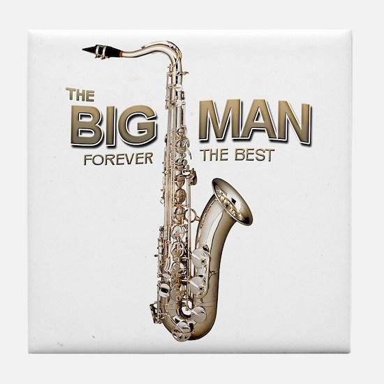 RIP Big Man Clarence Clemons Tile Coaster